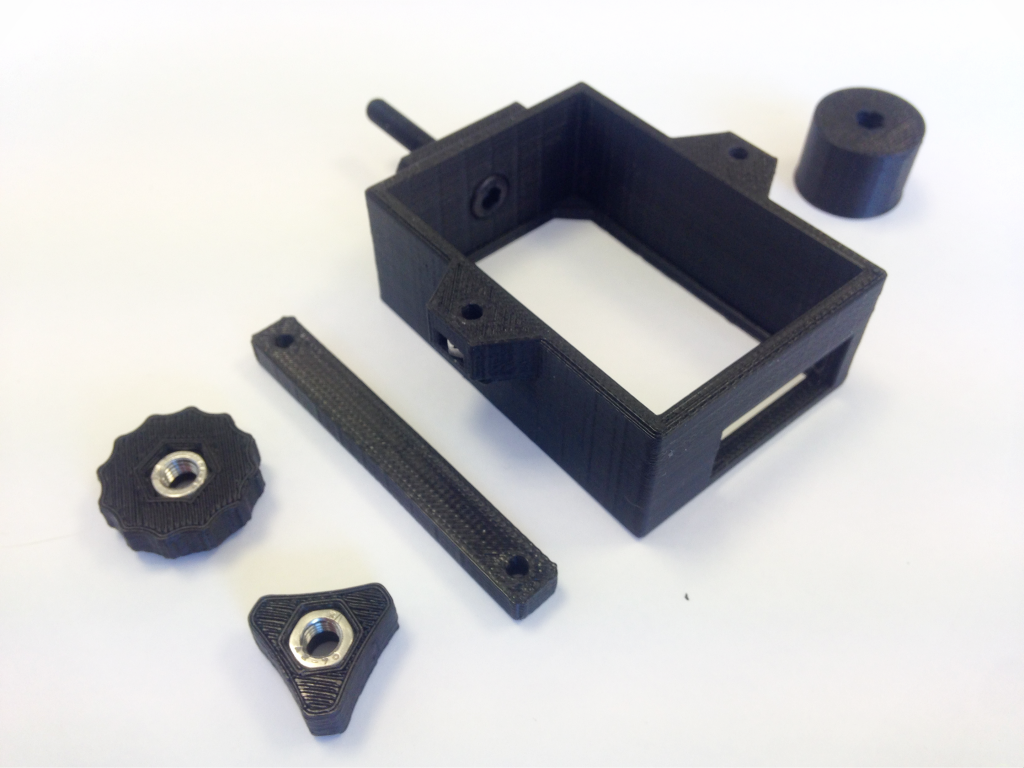 3D printed camera support for drone - Bitfab