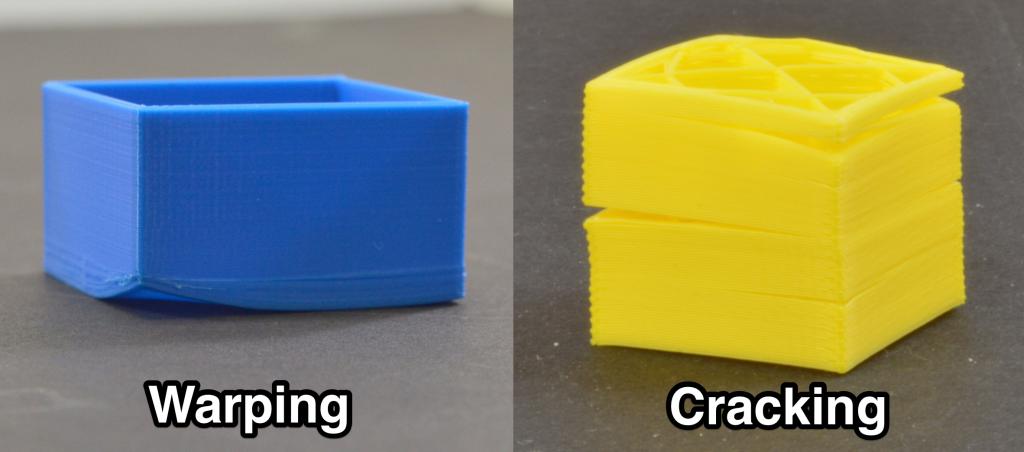 Warping y cracking en piezas impresas en ABS