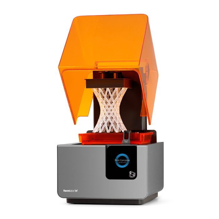 Impresión 3D en resina