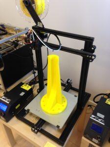 Utillaje de brazo robot impreso en filamento PETG
