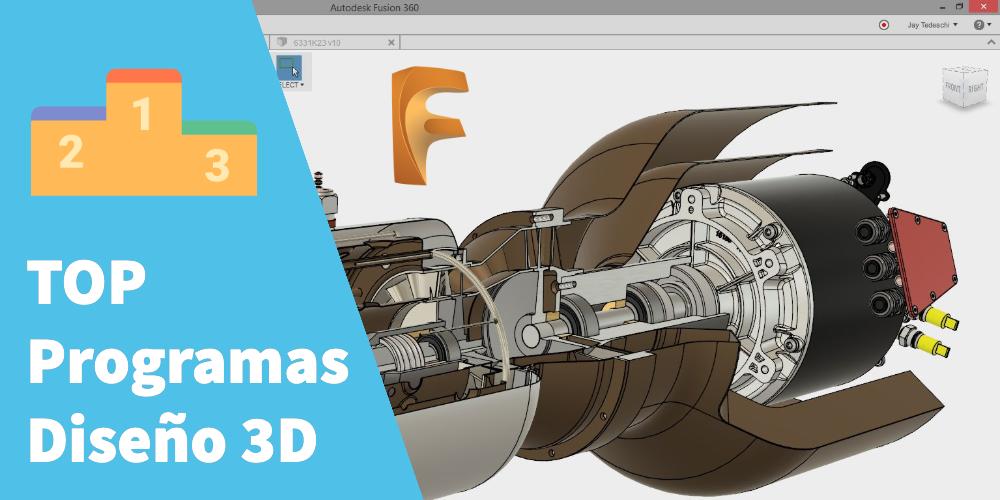 Top Programas diseño 3D