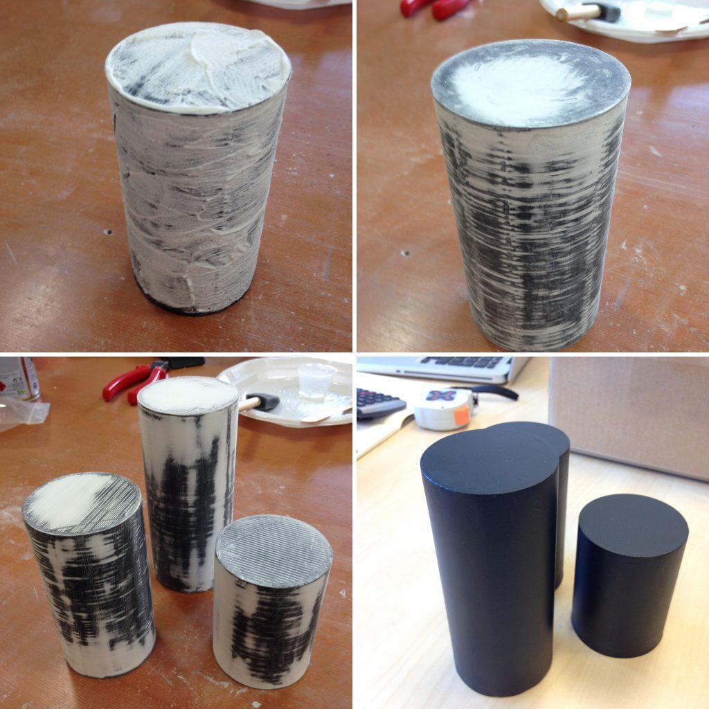 Pós-processamento de impressão 3D