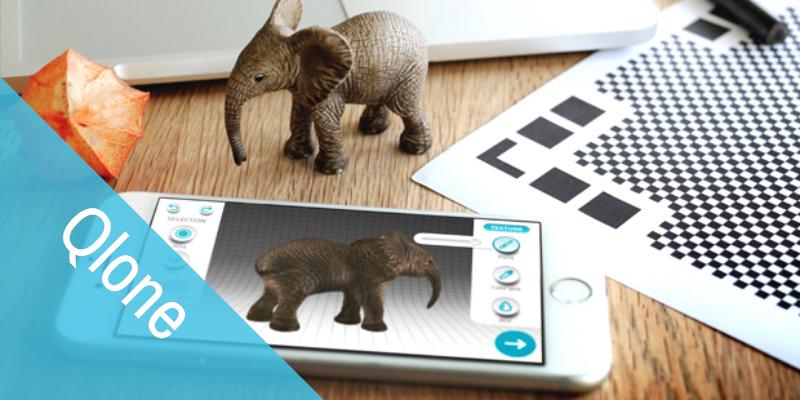 Qlone app para escanear 3d