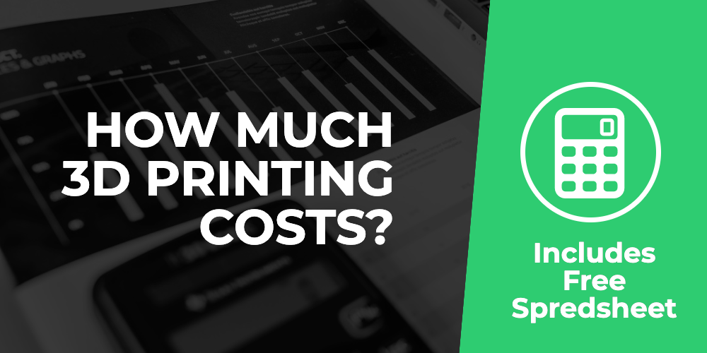 How much 3D printing cost