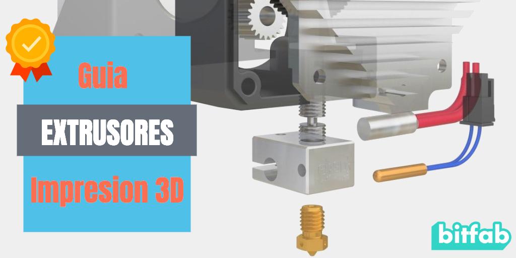 Extrusores impresora 3D