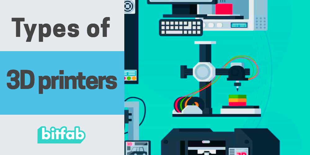 Types of 3D printers