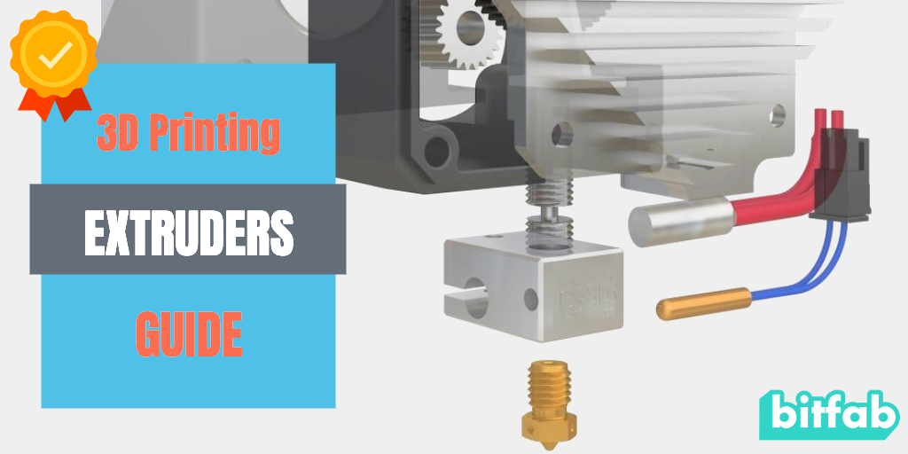 3D printing extruder guide
