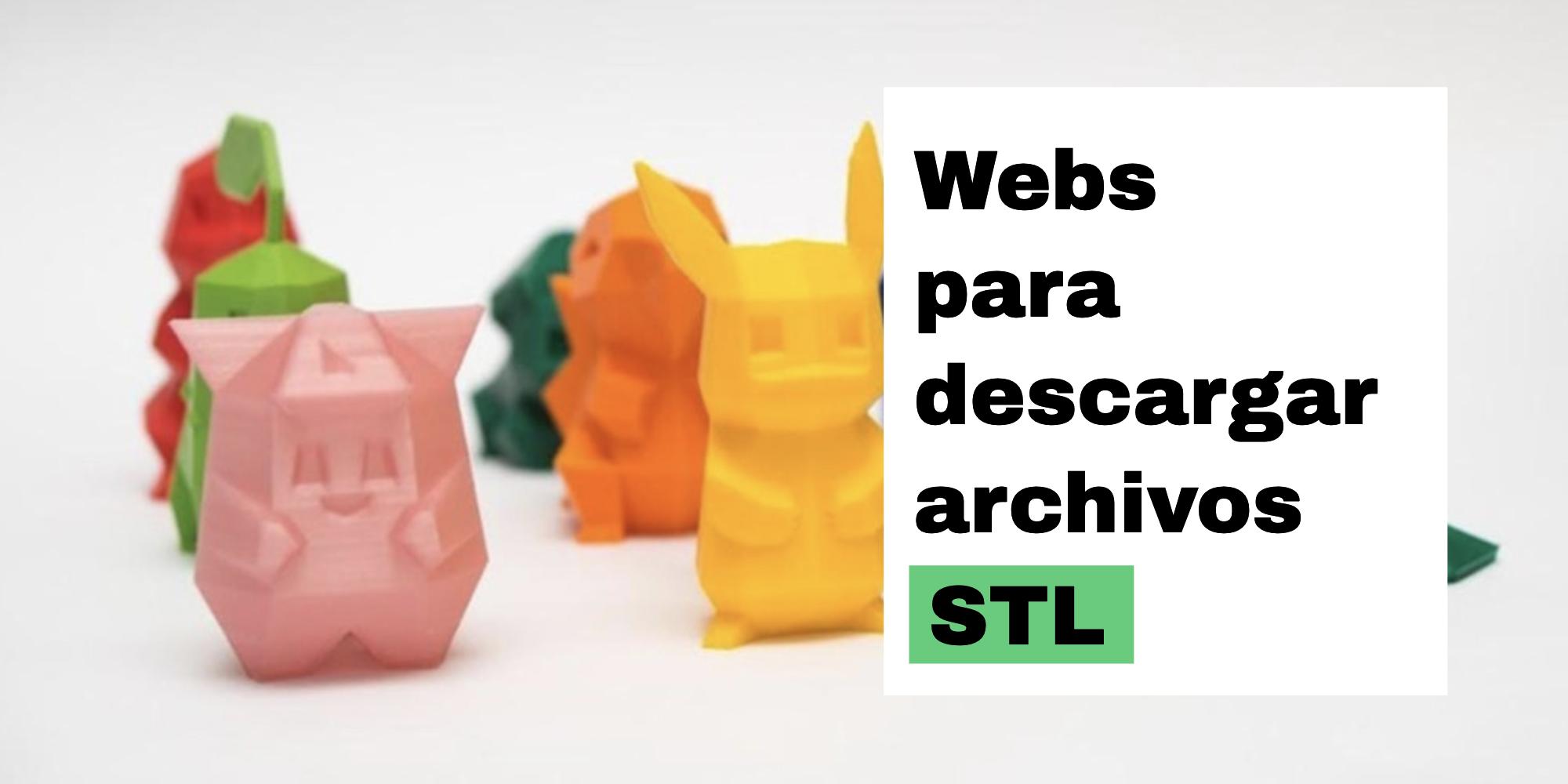 Descargar archivos STL