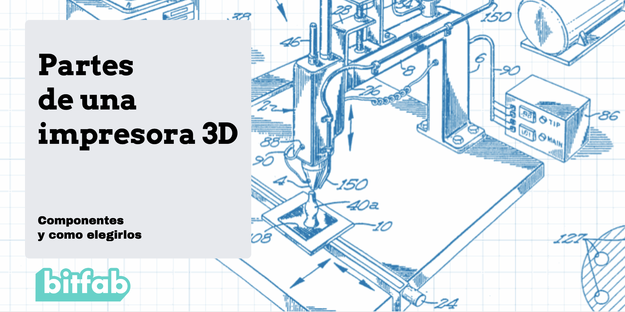 Partes de una impresora 3D