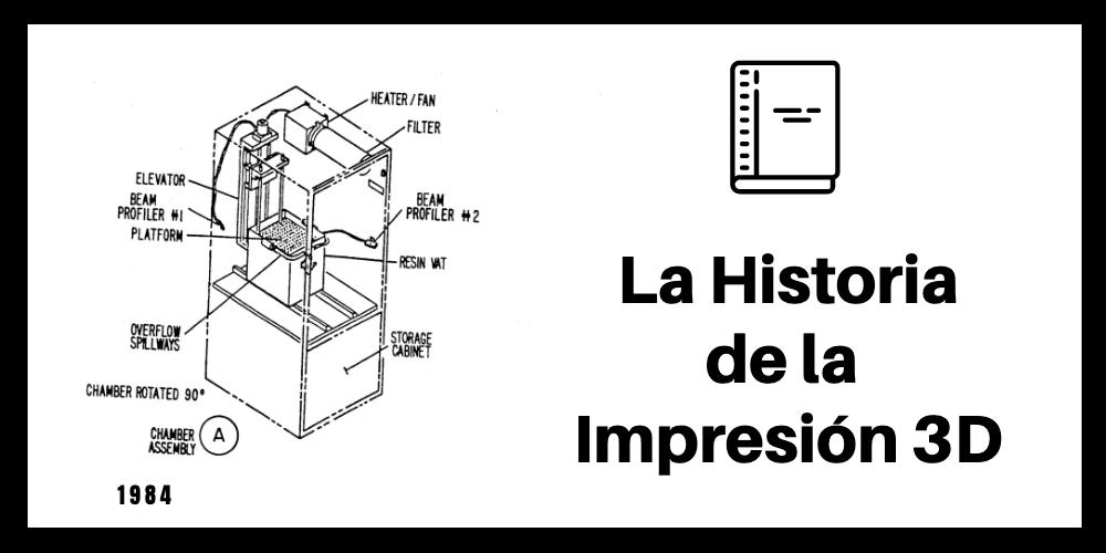 Historia Impresión 3D