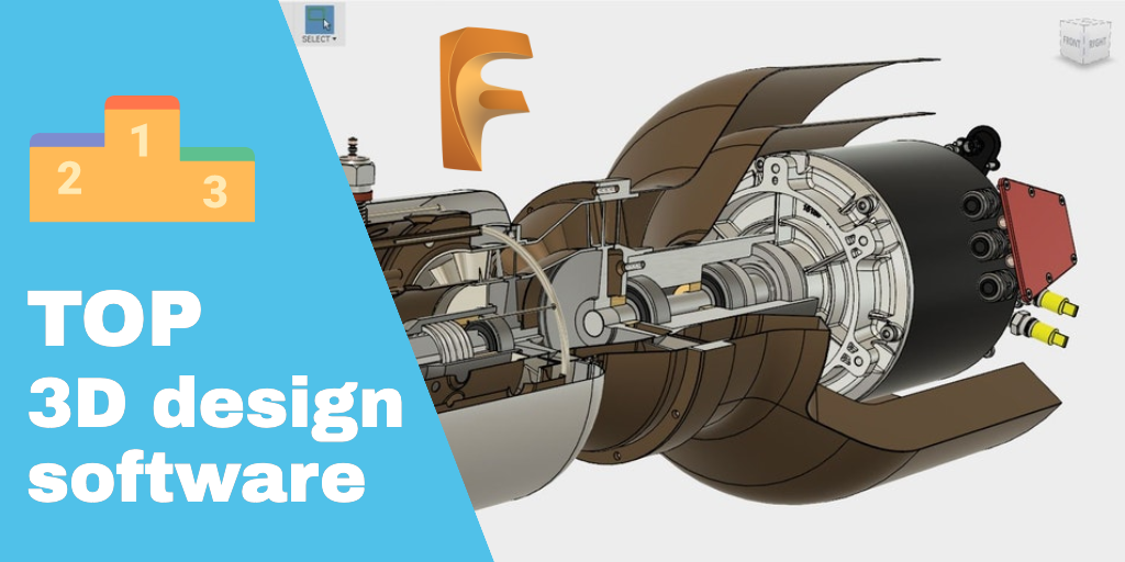 Top 3D design and 3D printing software